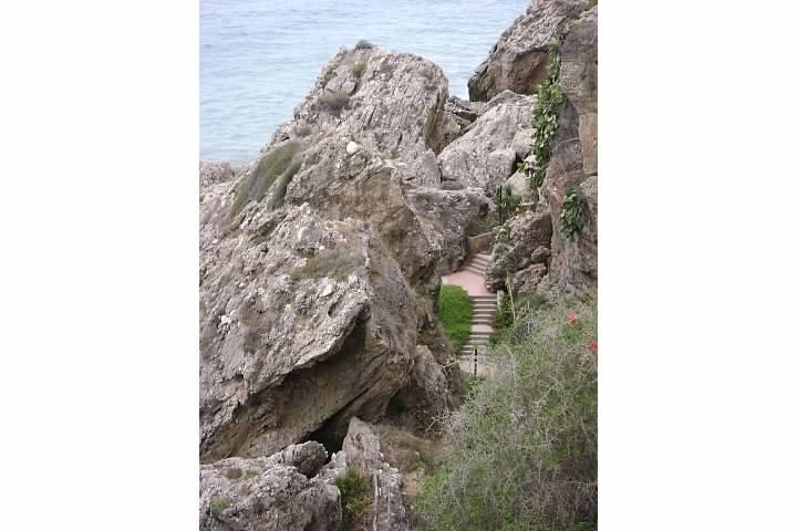 Rocky Path to the Beach Nerja
