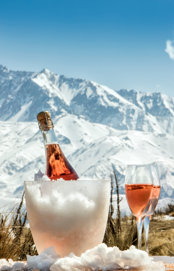 Rose Champagne Mountain