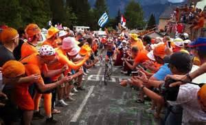 Fans Alpe dHuez