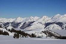 Snowy Plateau de Beille