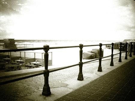at the seafront
