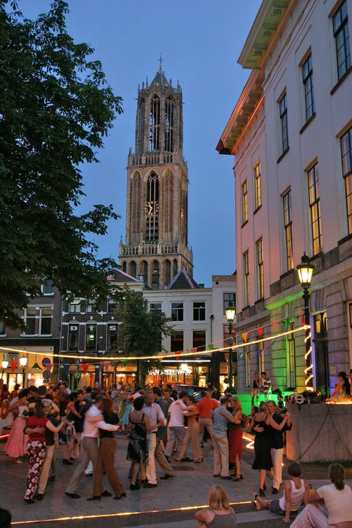 Utrecht Dom Tower at Night