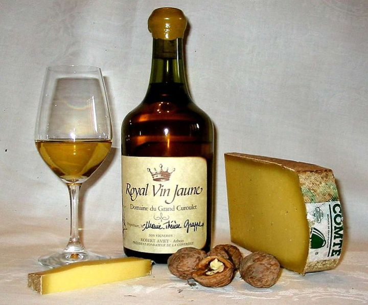 Vin Jaune and Cheese