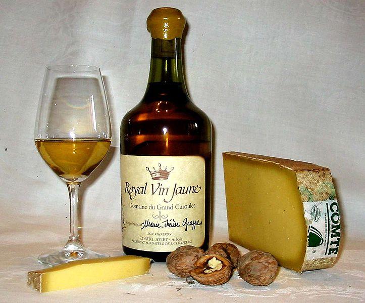 Vin Jaune and Cheese
