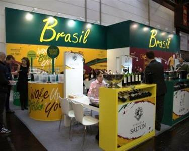 Brazil Wine Booth