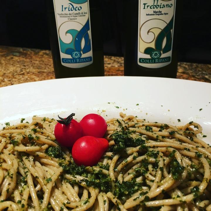 Pesto with Colli Ripani