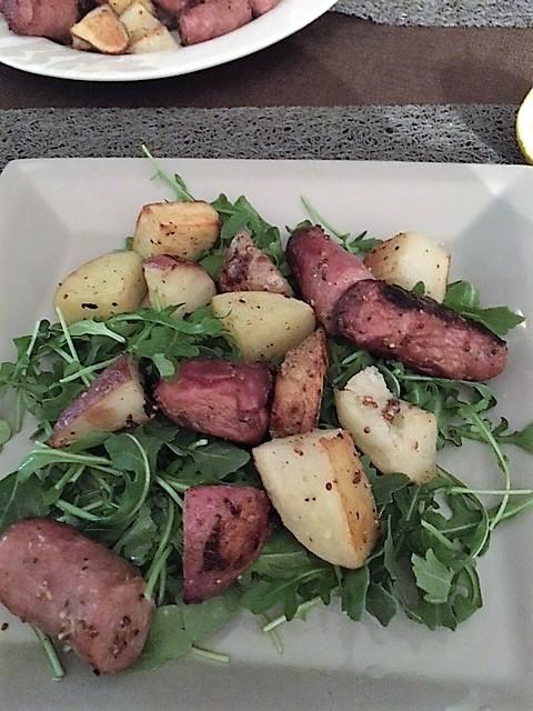 sausage-and-potato-roast