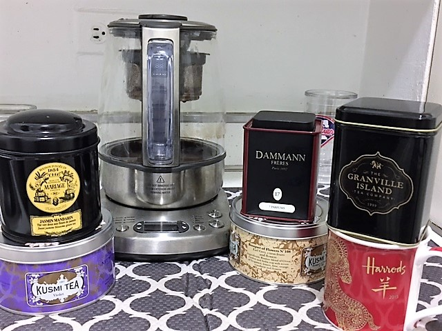 Tea Making Line Up