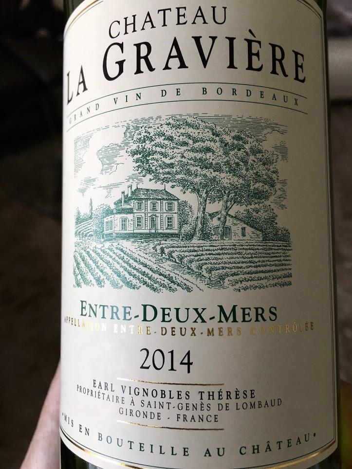 Ch La Graviere EDM White Bordeaux