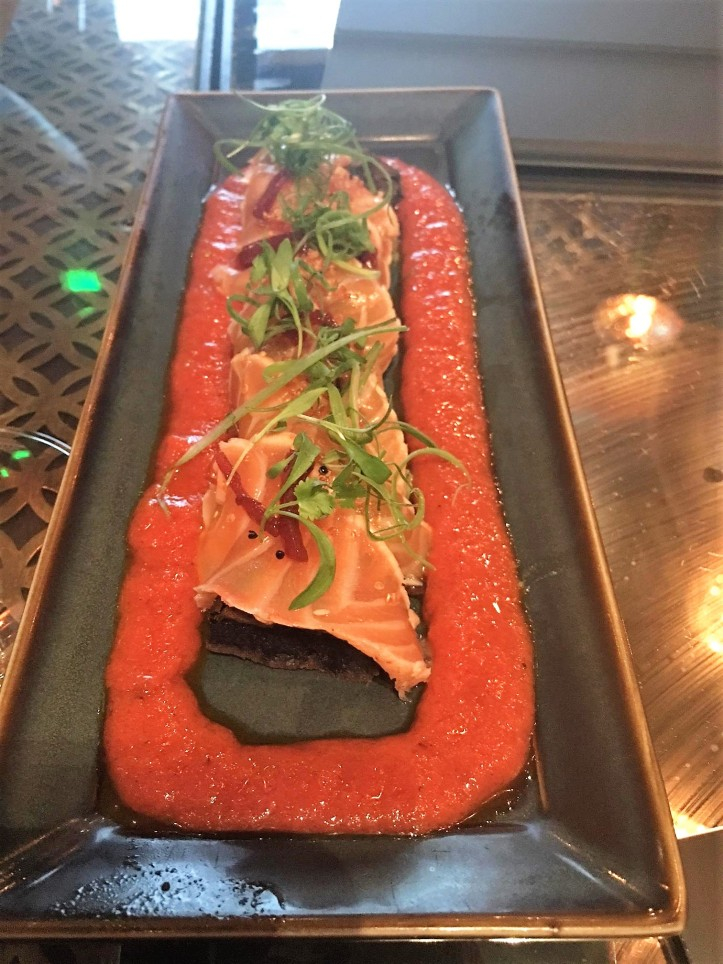 Salmon Tiradito Coya