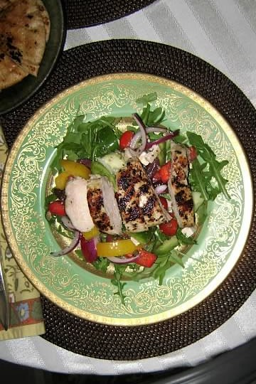 Greek Salad Plated (2)