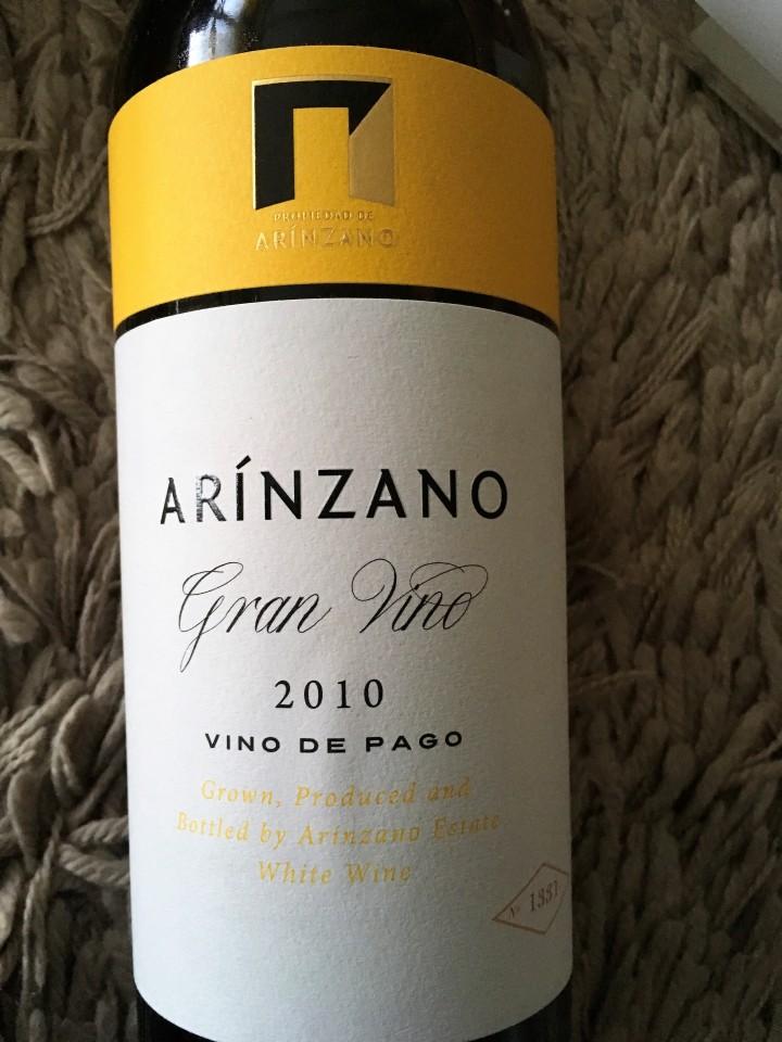 Arinzano Gran Vino White