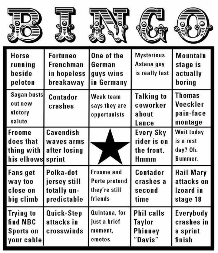 BingoCardTDF2017