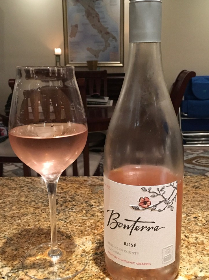 Bonterra Rose Poured