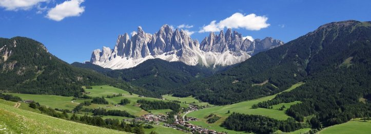 Geisler Summer in South Tyrol