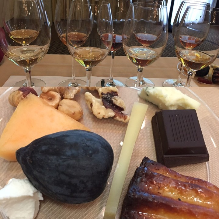Mistelle Wines and Flavor Plate