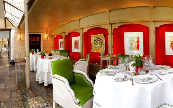 Marc Meneau Dining Room Voyage Prive
