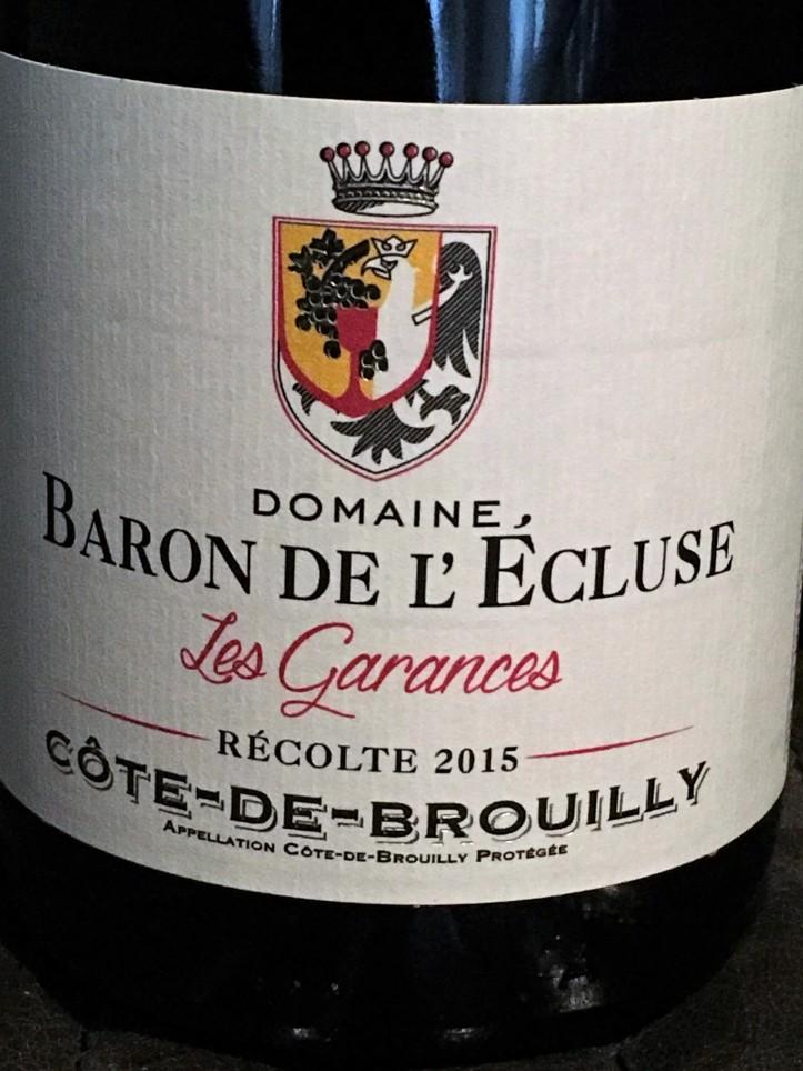 Baron de lEcluse Cote de Brouilly