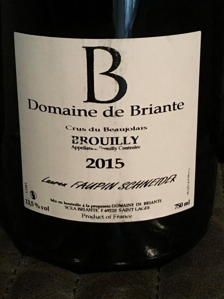 Domaine de Briante Brouilly