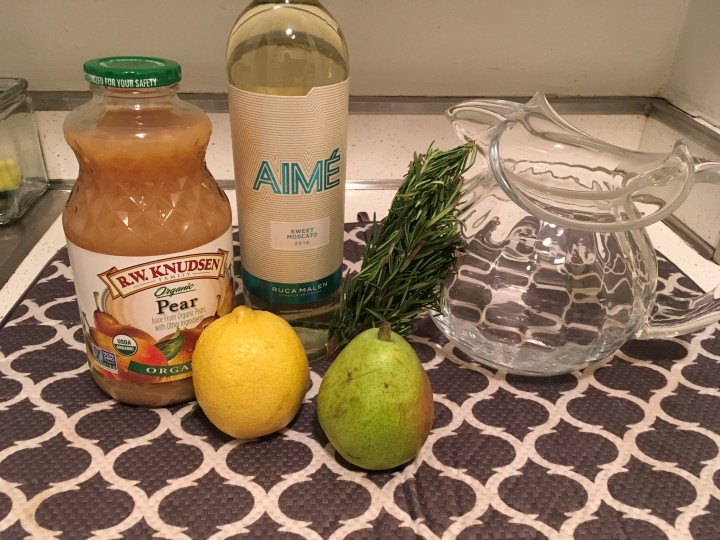 White Sangria Ingredients
