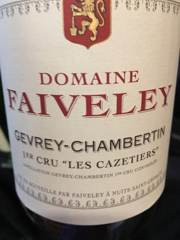 Faively Gevrey Chambertin