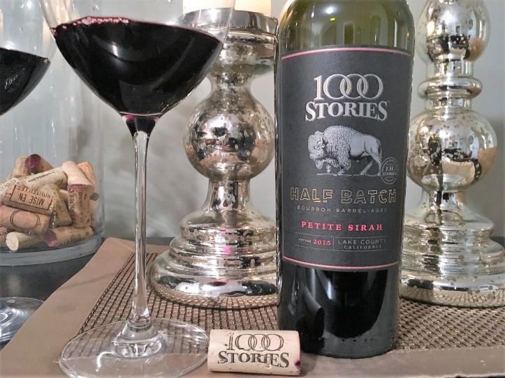 Petite Sirah Bottle Shot and Glasses