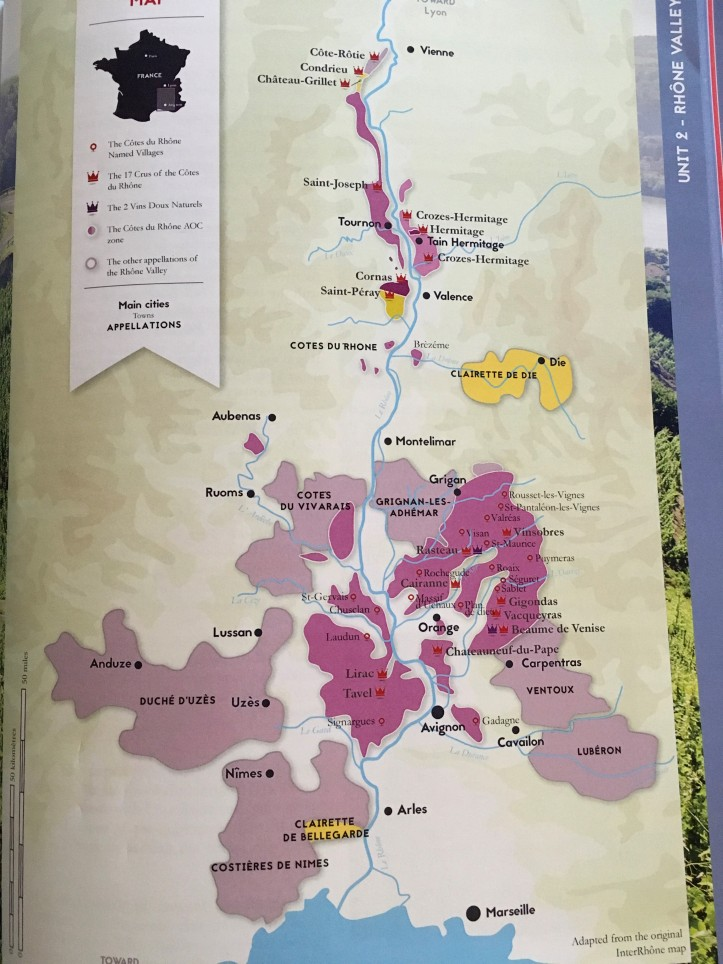 WSG Map of Rhone