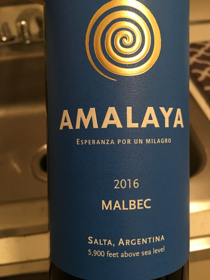 Amalaya Front Label