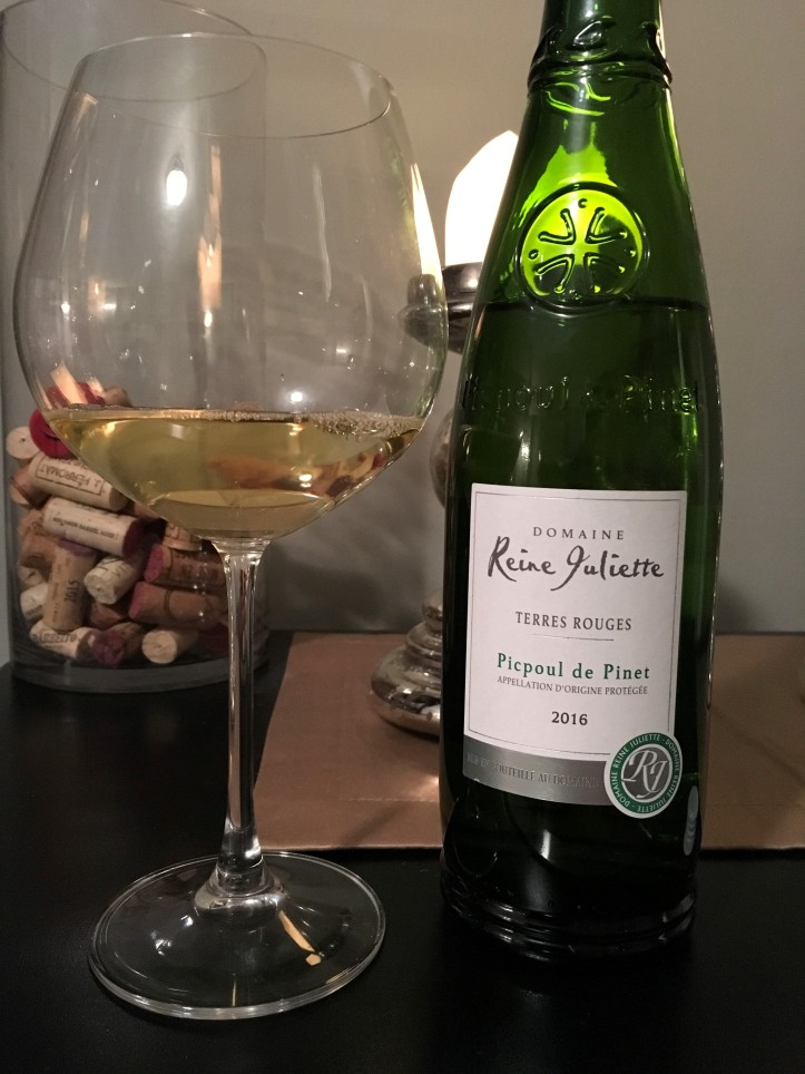 Picpoul Bottle and Glass