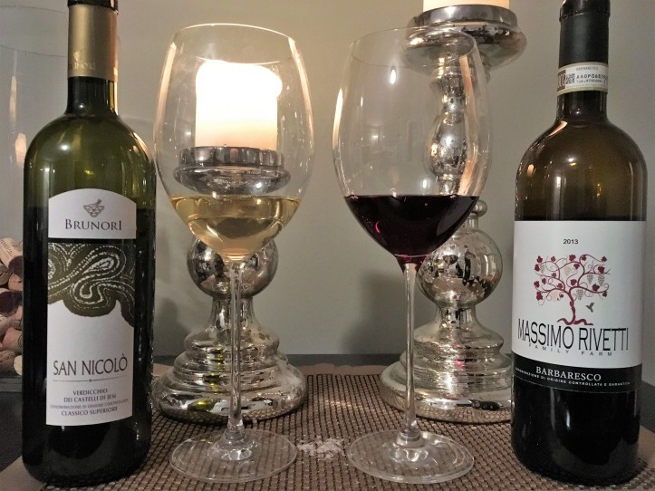 Verdicchio and Barbaresco Line Up