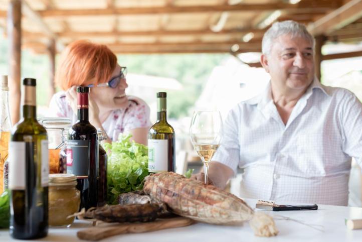 Laura and Antonio Basso Enotria