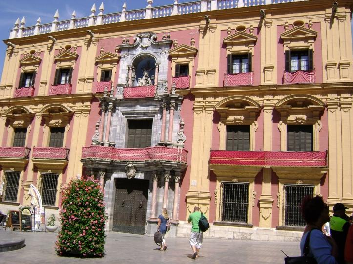 Malaga Fiesta de Santa Maria de la Victoria