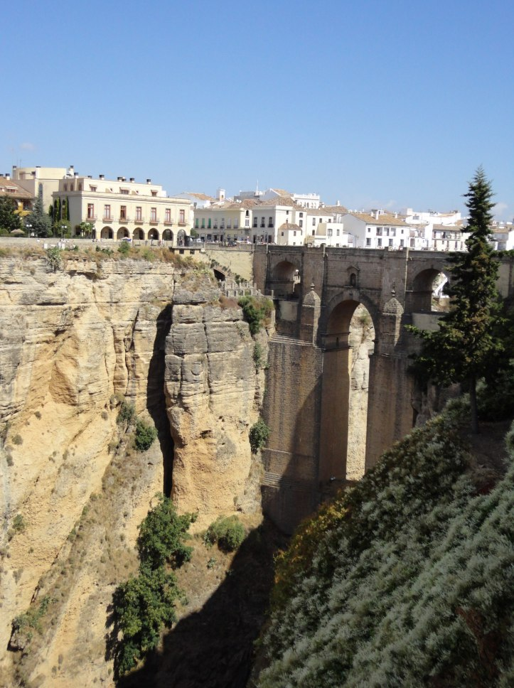Ronda Bridge from Afar