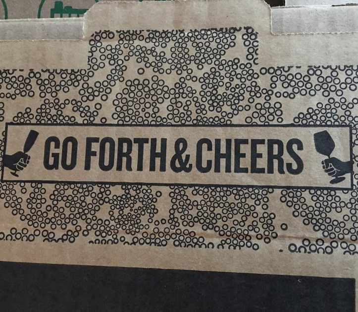 Go Forth and Cheers