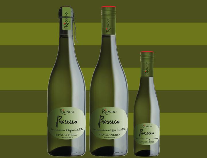 Riondo Prosecco Bottles
