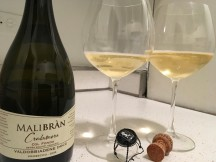 Malibran Bottle and Glasses