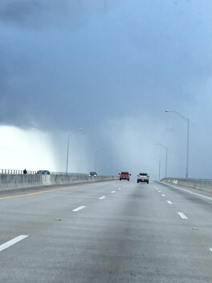 Causeway Rain Storm