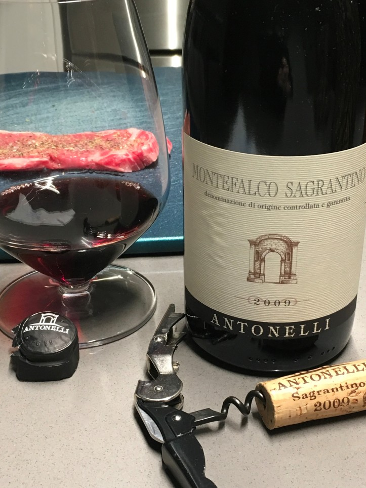 Antonelli MS Bottle Shot and Steak