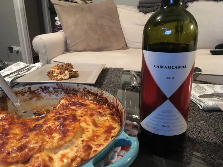 Ca Marcanda and Shepherds Pie