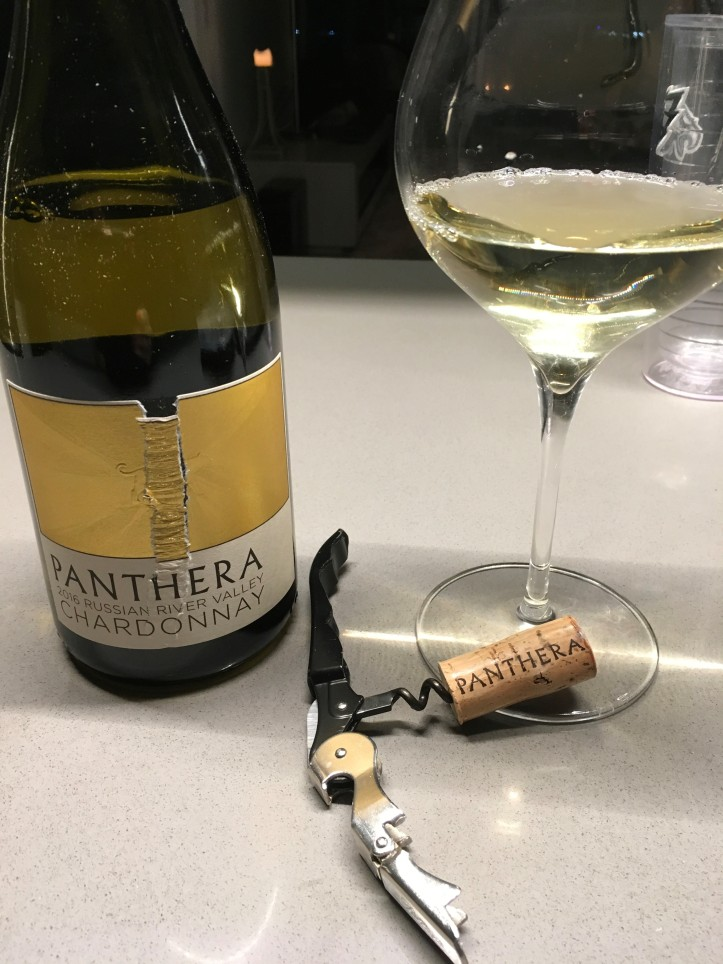 Panthera Bottle Shot and Glass