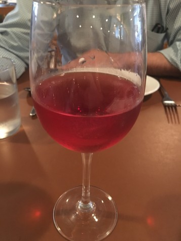 Rosato in the Glass
