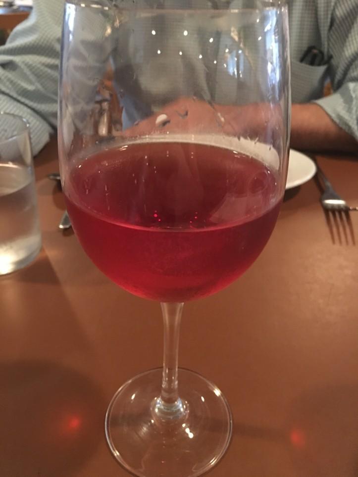 Rosato in the Glass