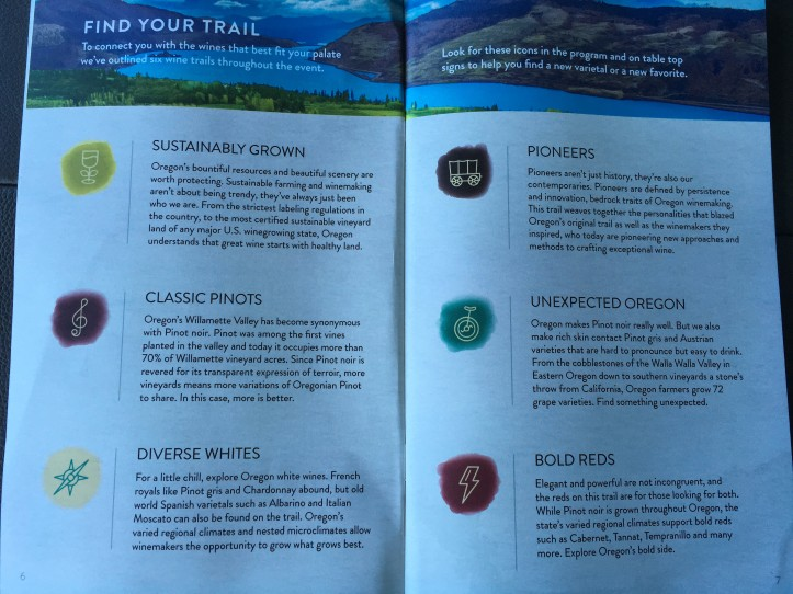 Different Tasting Trails