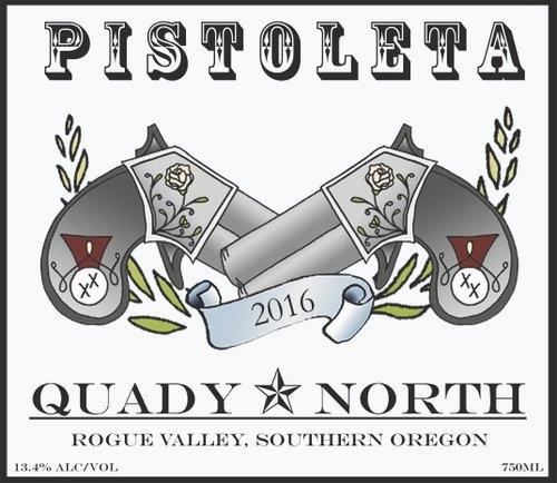 Quady North Pistoleta Label