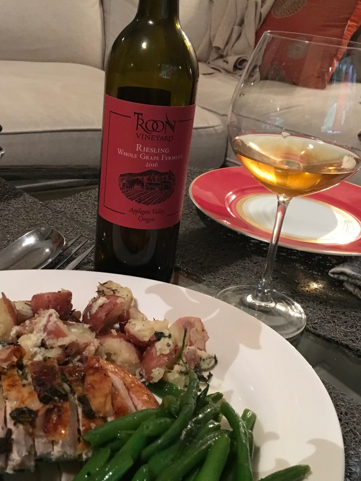 Troon Riesling and Turkey