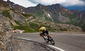 Alaphilippe Descends photo from Guardian