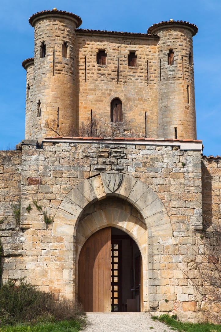 Cathar castle of Arques