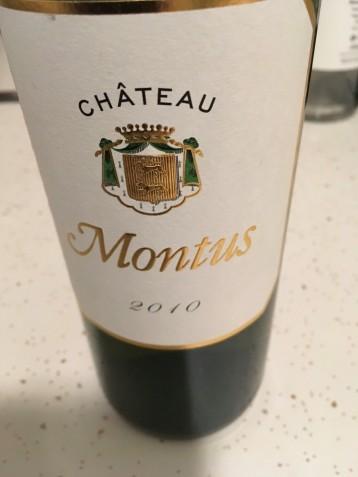 Montus Front Label