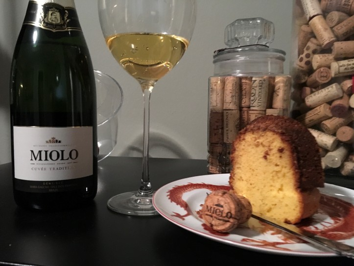 Cake and Bubbles
