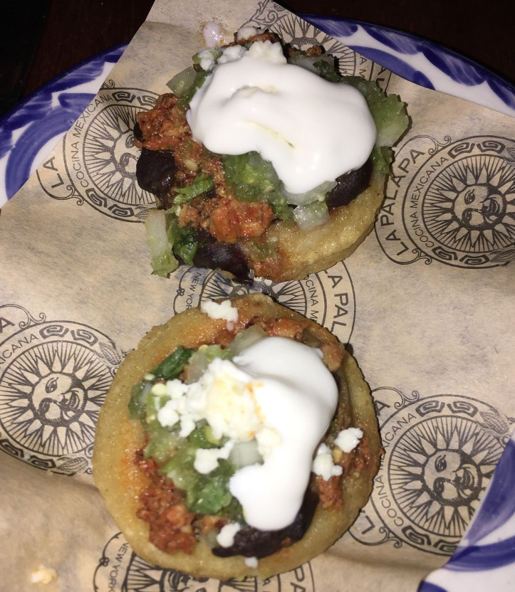 Chalupas with Chorizo (2)